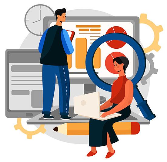 Content Management graphic